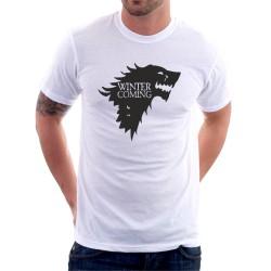 Winter is Coming - Pánské Tričko s vtipným potiskem