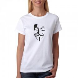 Anonimus - Dámske Tričko s vtipnou potlačou