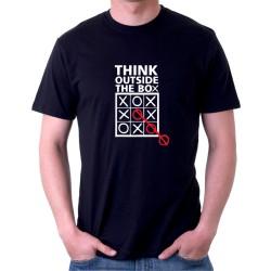 Thing outside the box - Pánské Tričko s vtipným potiskem