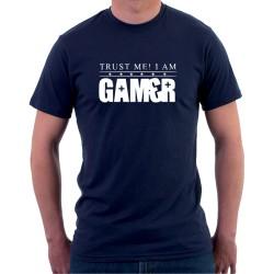 Trust me! I am gamer - Pánske Tričko s vtipnou potlačou