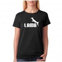Lama - Dámske Tričko s vtipnou potlačou