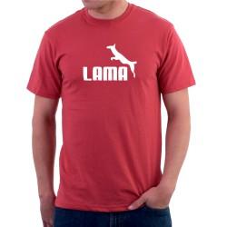 Lama - Pánske Tričko s vtipnou potlačou